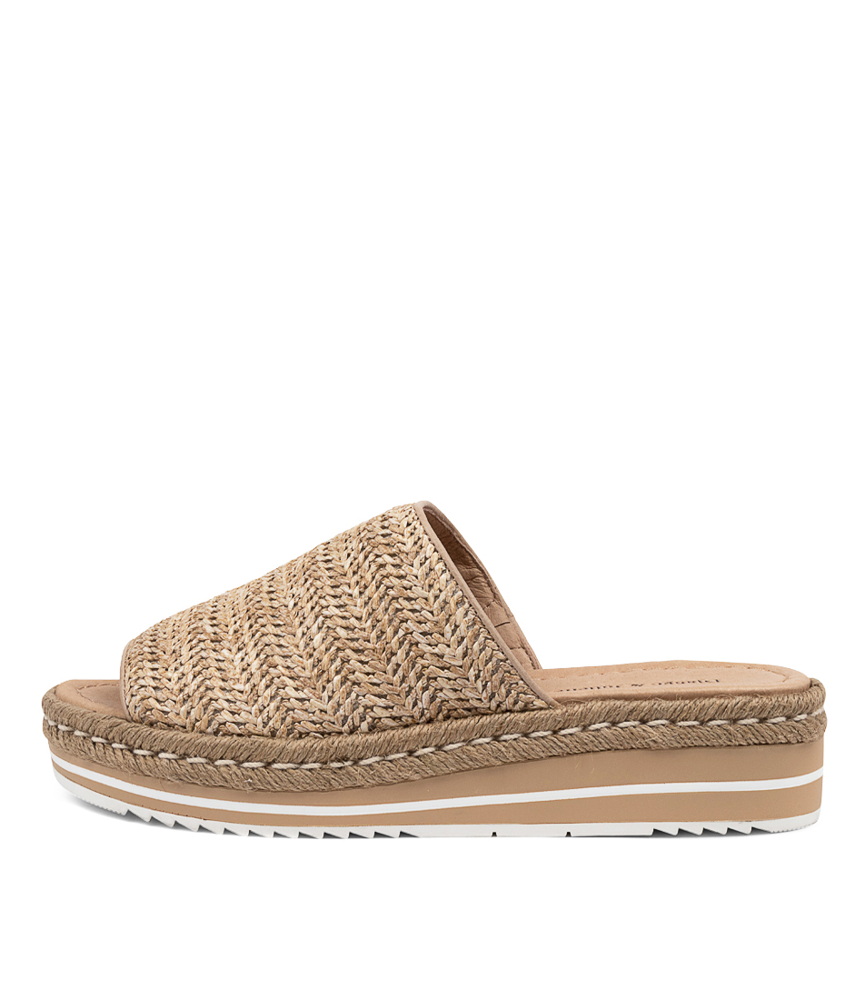 Buy Django & Juliette Aminah Dj Natural Heeled Sandals online with free shipping