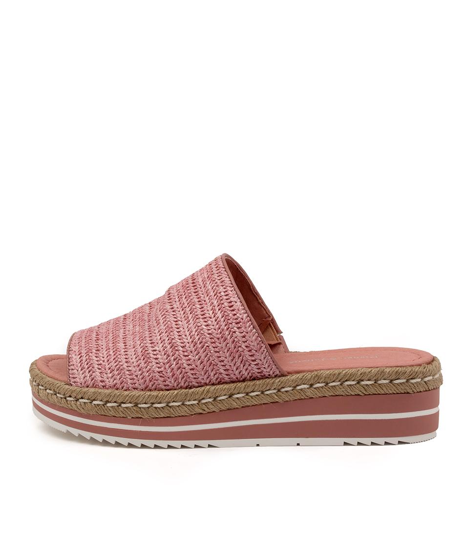 Buy Django & Juliette Aminah Dj Pink Heeled Sandals online with free shipping
