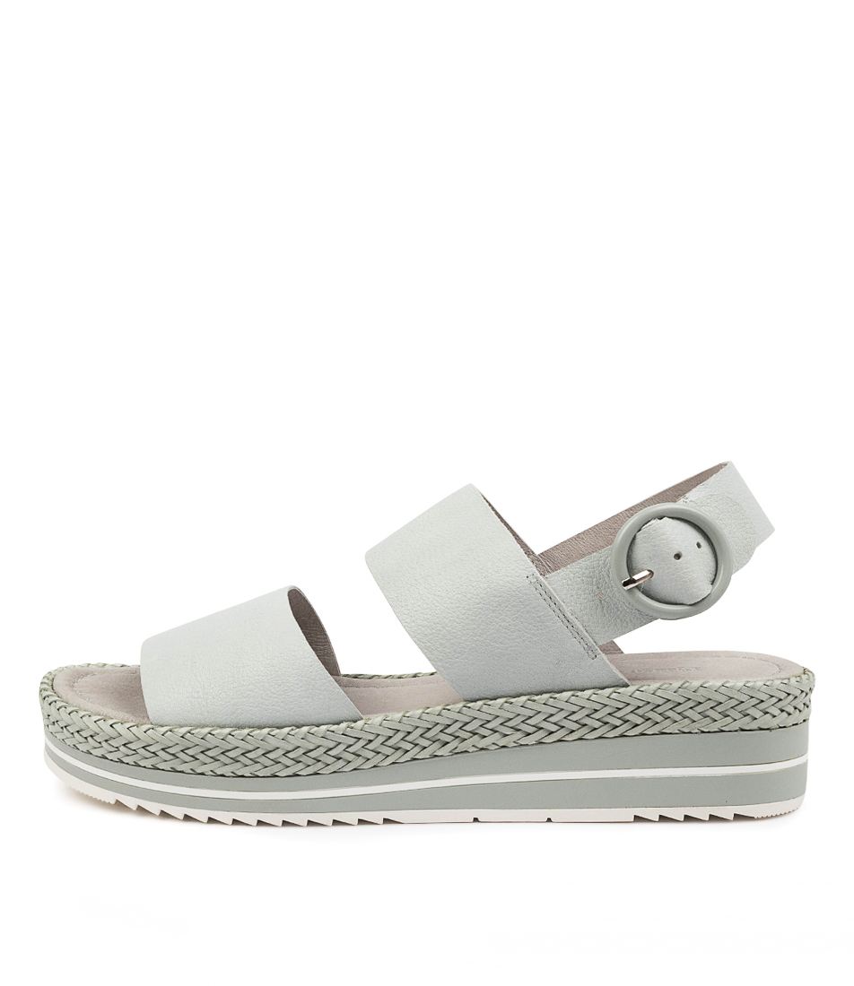Buy Django & Juliette Arah Dj Palest Blue Flat Sandals online with free shipping