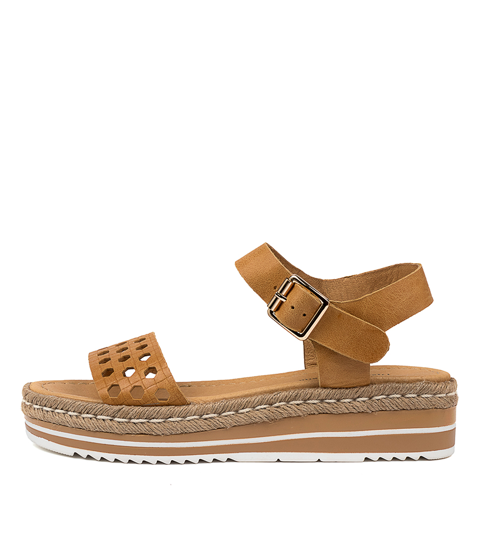 Buy Django & Juliette Arline Dj Mustard Flat Sandals online with free shipping