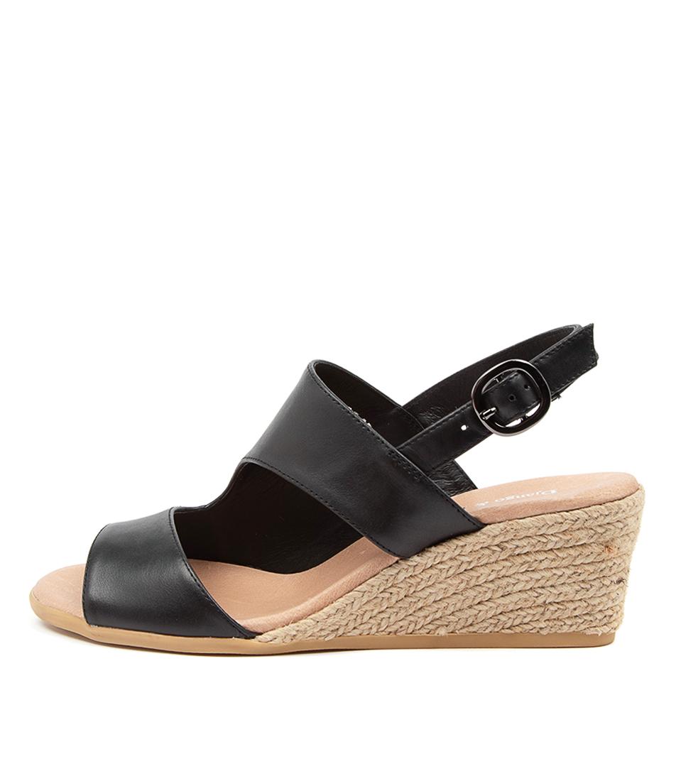 Buy Django & Juliette Baylie Dj Black Heeled Sandals online with free shipping
