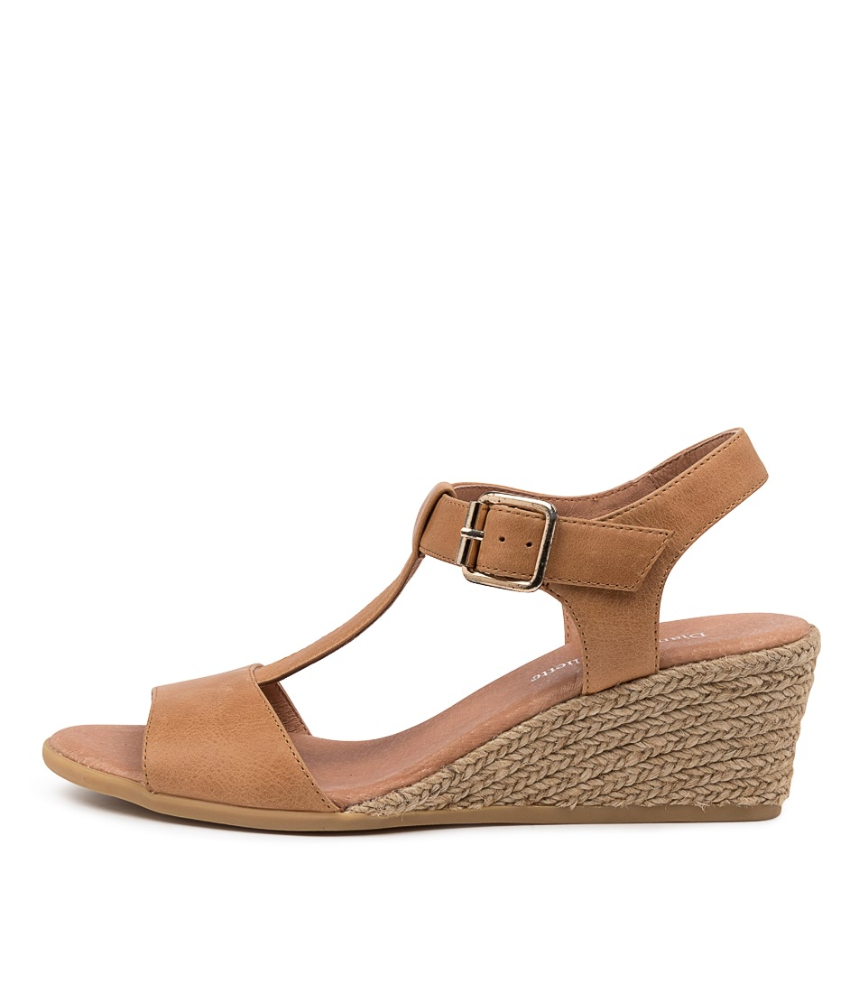 Buy Django & Juliette Brandi Dj Tan Heeled Sandals online with free shipping