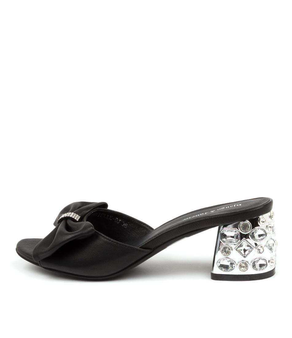 Buy Django & Juliette Brielle Dj Black Heeled Sandals online with free shipping