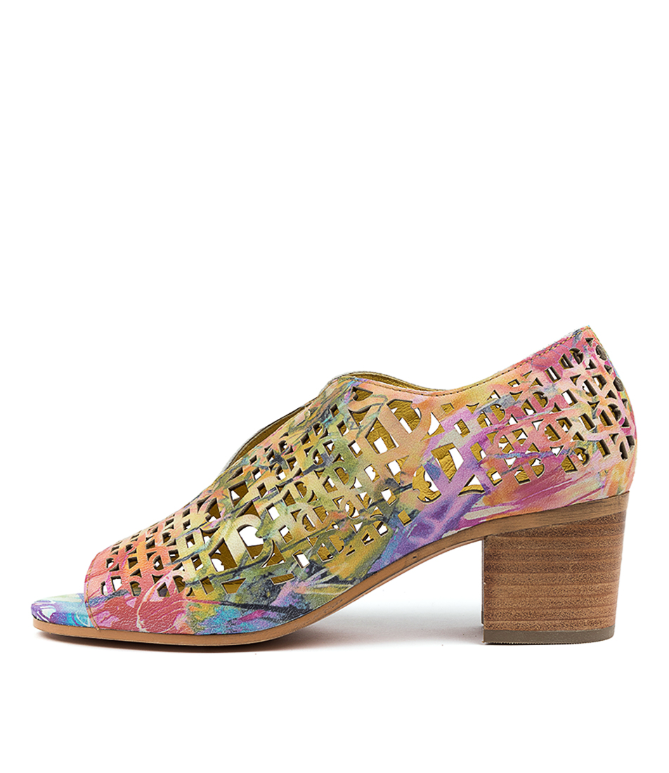 Buy Django & Juliette Burk Dj Splash Heeled Sandals online with free shipping