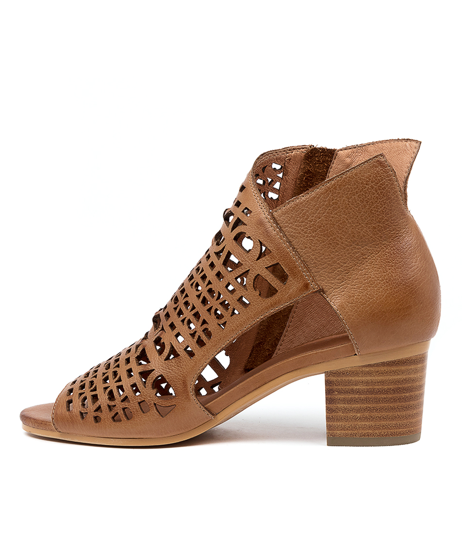 Buy Django & Juliette Butler Dj Dk Tan Heeled Sandals online with free shipping