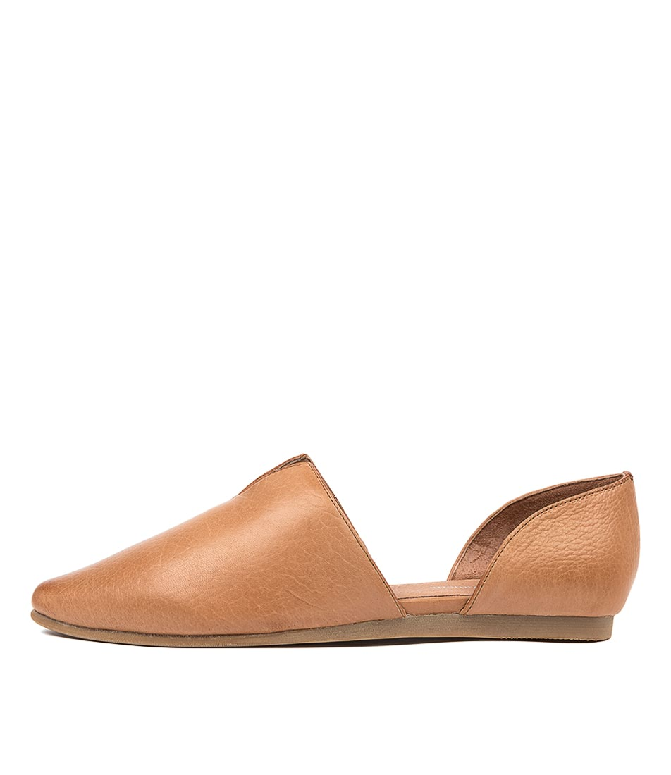 Buy Django & Juliette Corso Dj Dk Tan Flats online with free shipping
