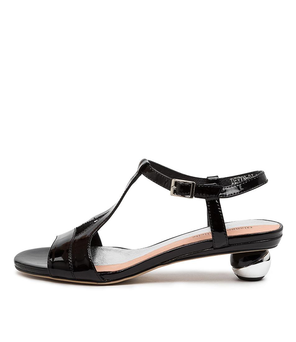 Buy Django & Juliette Devyn Dj Black Heeled Sandals online with free shipping