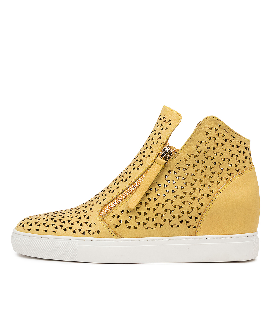 Buy Django & Juliette Gerda Dj Lt Yellow Sneakers online with free shipping