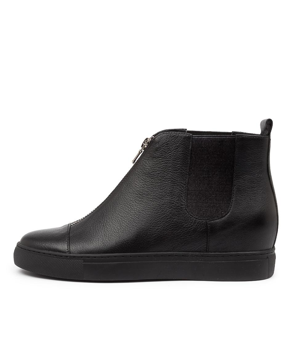 Buy Django & Juliette Glynn Dj Black Ankle Boots online with free shipping