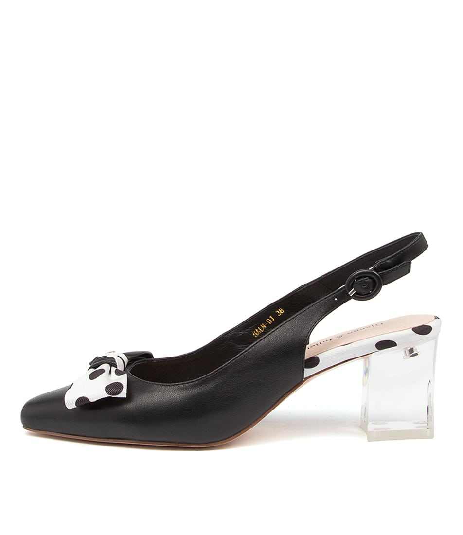 Buy Django & Juliette Halm Dj Black Black Spot High Heels online with free shipping