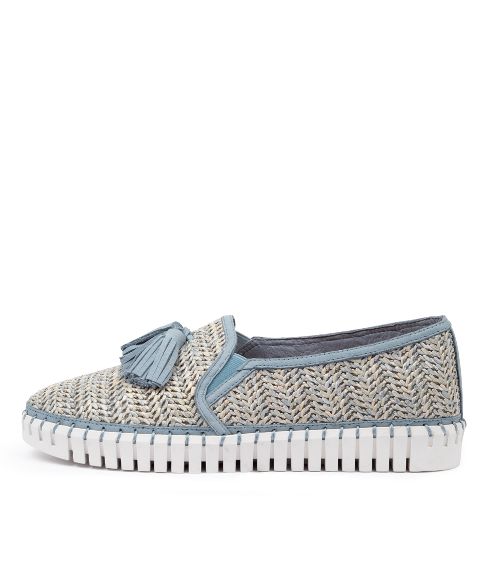 Buy Django & Juliette Halope Dj Blue Sneakers online with free shipping