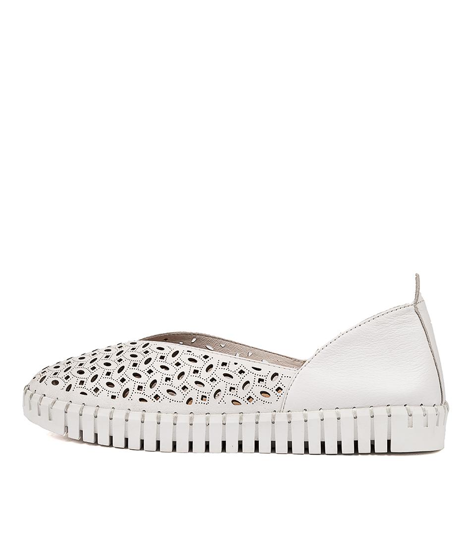 Buy Django & Juliette Helmer Dj White White Sole Sneakers online with free shipping