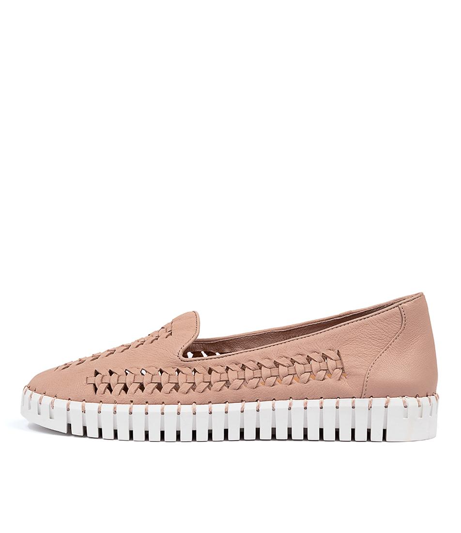 Buy Django & Juliette Howard Dj Rose White Sole Sneakers online with free shipping
