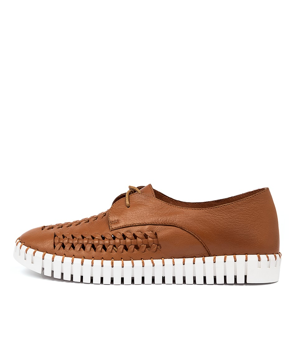 Buy Django & Juliette Hubert Dj Dk Tan White So Sneakers online with free shipping