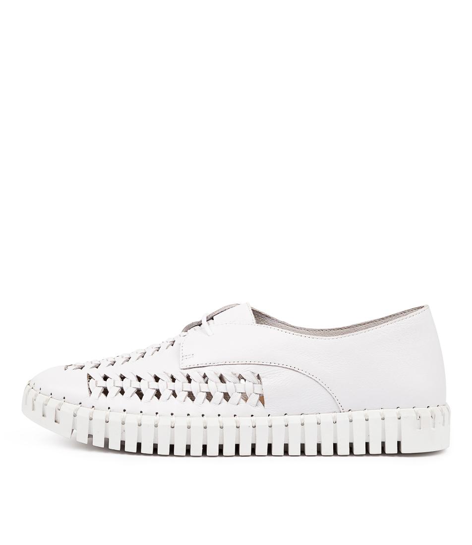 Buy Django & Juliette Hubert Dj White White Sole Sneakers online with free shipping