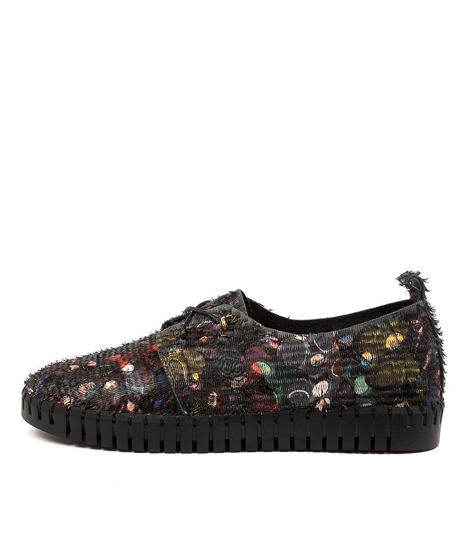 Buy Django & Juliette Huskies Dj Black Multi Black Sole Sneakers online with free shipping