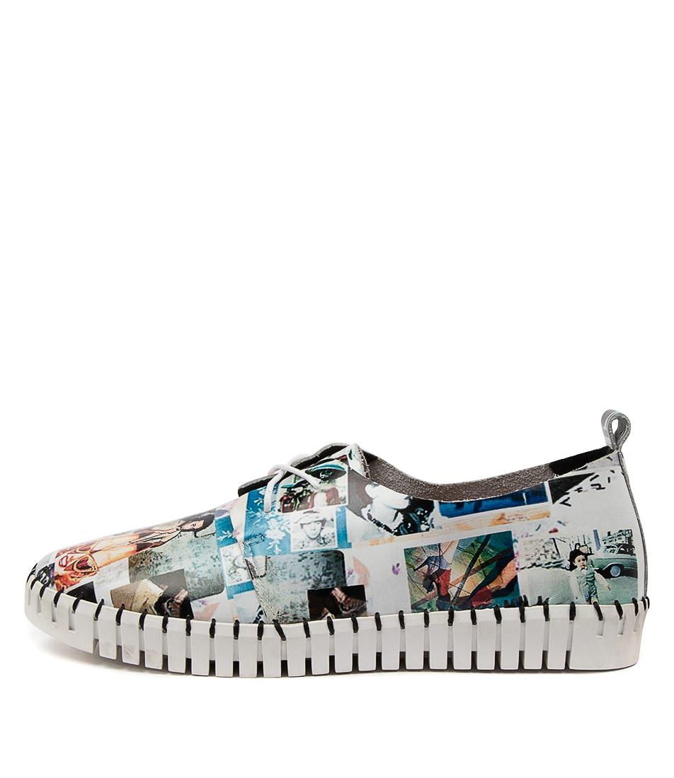 Buy Django & Juliette Huskies Dj Crazy Print Sneakers online with free shipping