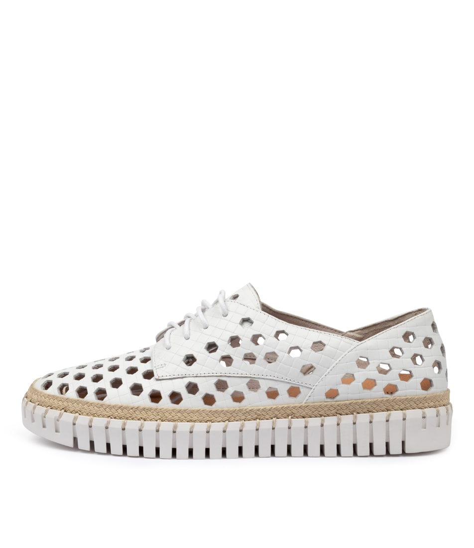 Buy Django & Juliette Hypera Dj White Sneakers online with free shipping