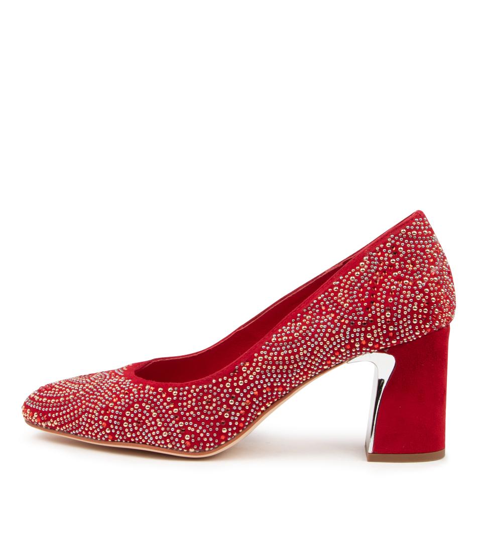 Buy Django & Juliette Keshia Dj Red High Heels online with free shipping
