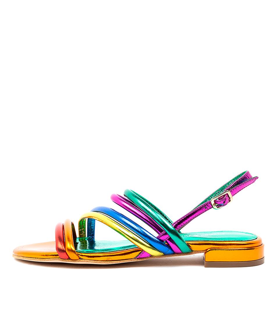 Buy Django & Juliette Landen Dj Bright Met Flat Sandals online with free shipping