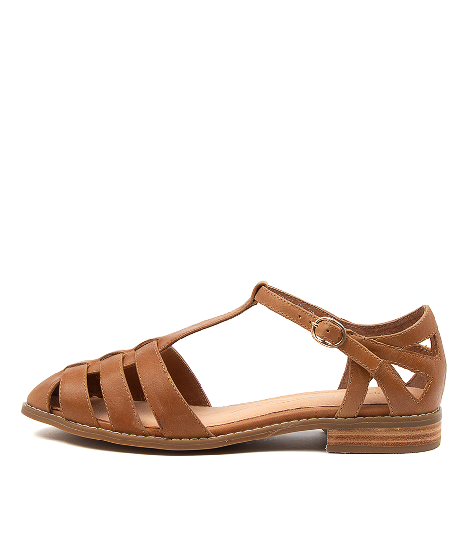 Buy Django & Juliette Lionel Dj Tan Flats online with free shipping