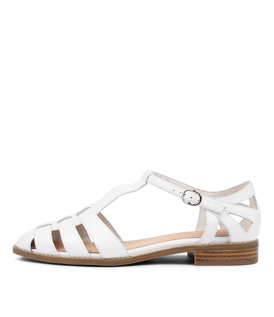 Buy Django & Juliette Lionel Dj White Flats online with free shipping