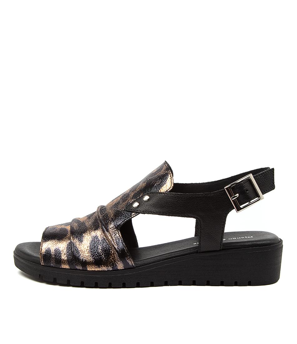 Buy Django & Juliette Madis Dj Ocelot Flat Sandals online with free shipping