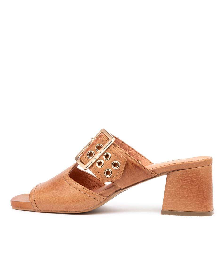 Buy Django & Juliette Maud Dj Dk Tan Heeled Sandals online with free shipping
