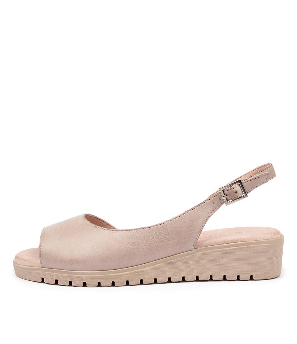 Buy Django & Juliette Mitzi Dj Nude Nude Sole Flat Sandals online with free shipping