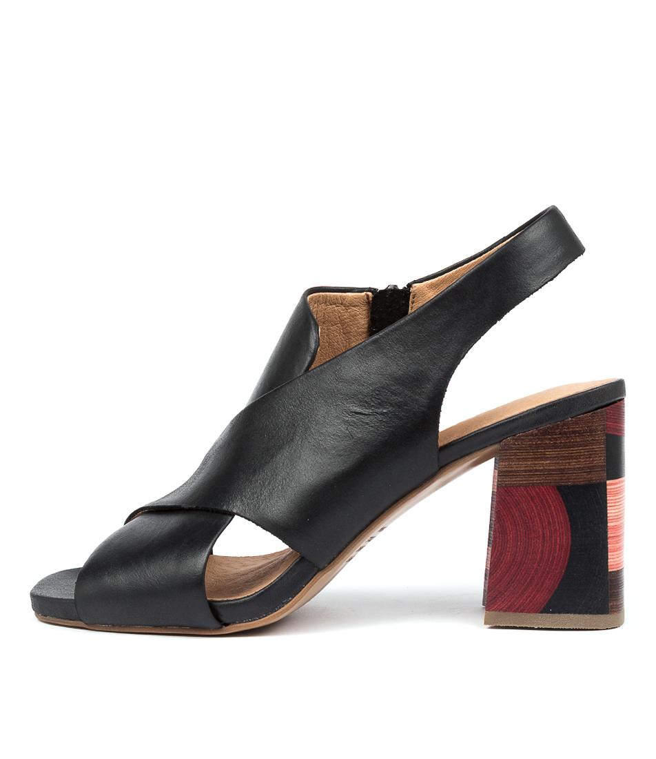 Buy Django & Juliette Renea Dj Black Heeled Sandals online with free shipping