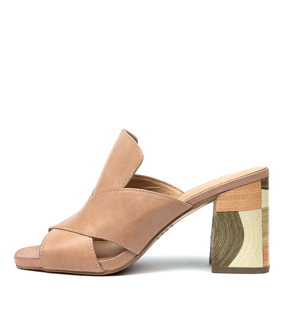 Buy Django & Juliette Ross Dj Cafe Heeled Sandals online with free shipping
