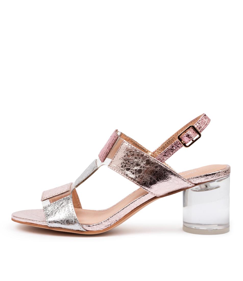 Buy Django & Juliette Seymour Dj Rose Multi Clear Heeled Sandals online with free shipping