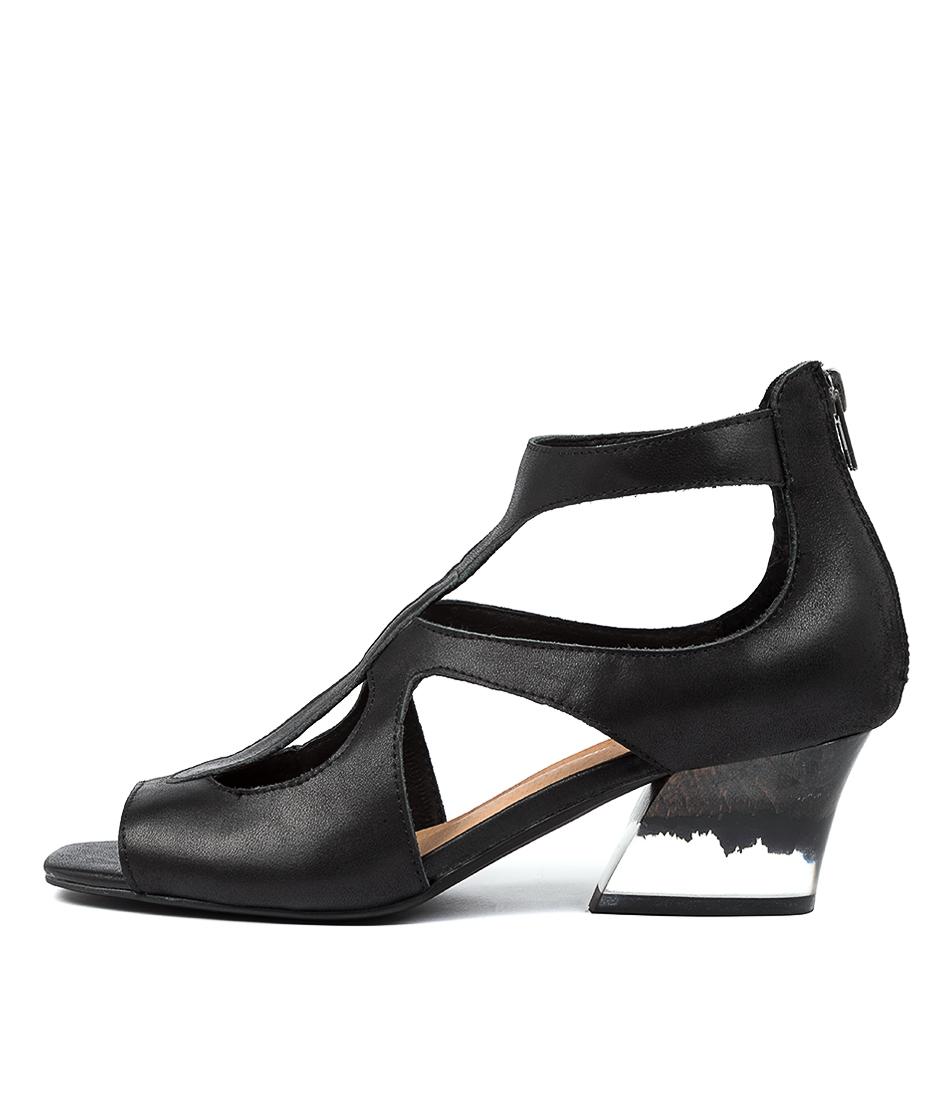 Buy Django & Juliette Symone Dj Black Heel Heeled Sandals online with free shipping