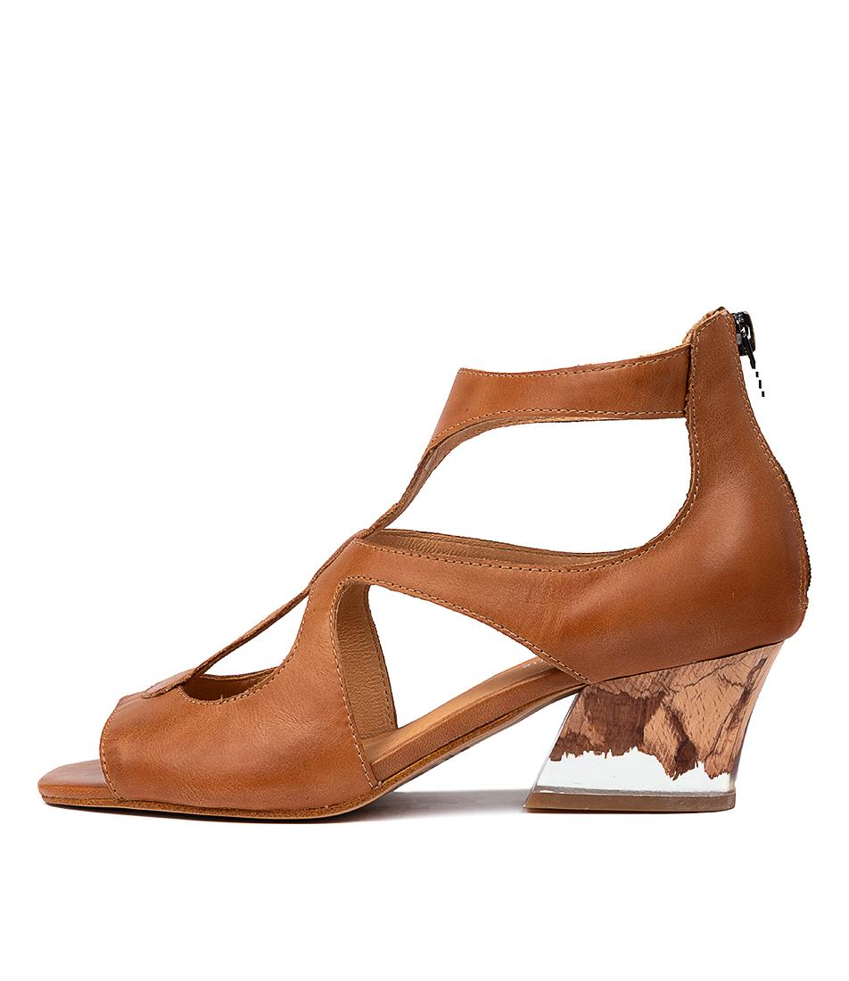 Buy Django & Juliette Symone Dj Tan Heeled Sandals online with free shipping
