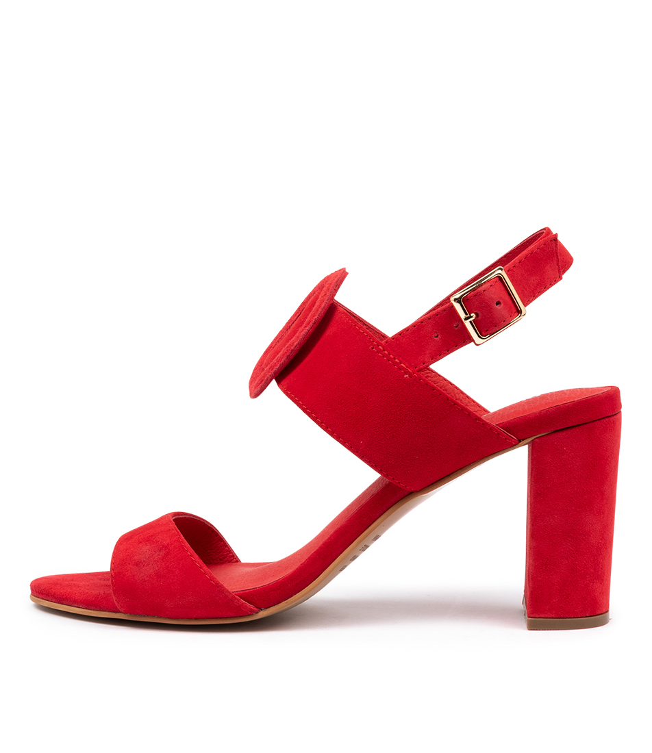 Buy Django & Juliette Tolbert Dj Red Heeled Sandals online with free shipping