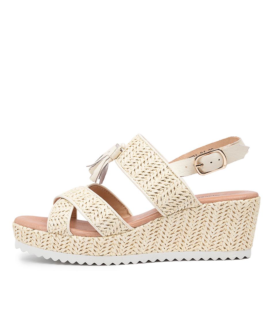 Buy Django & Juliette Sheri Dj Beige Heeled Sandals online with free shipping