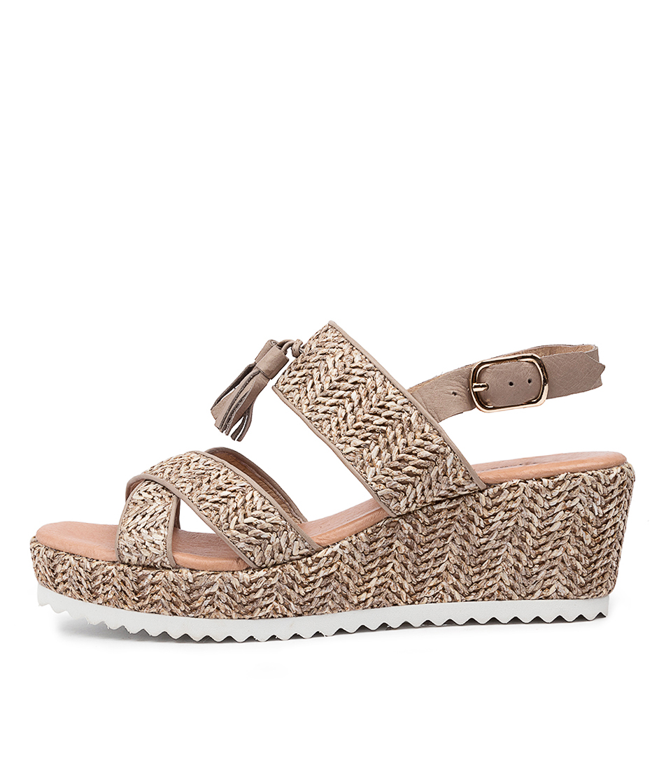 Buy Django & Juliette Sheri Dj Cinnamon Heeled Sandals online with free shipping