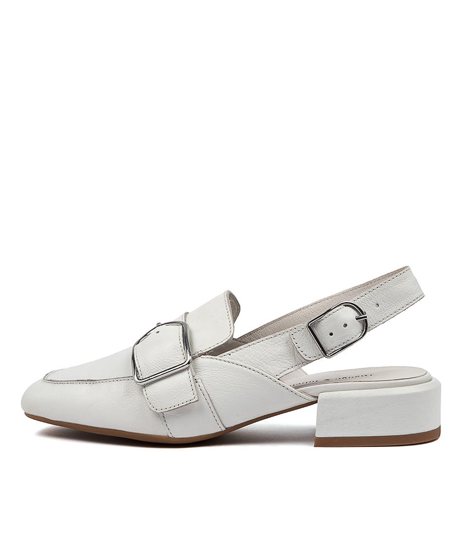 Buy Django & Juliette Valray Dj White High Heels online with free shipping