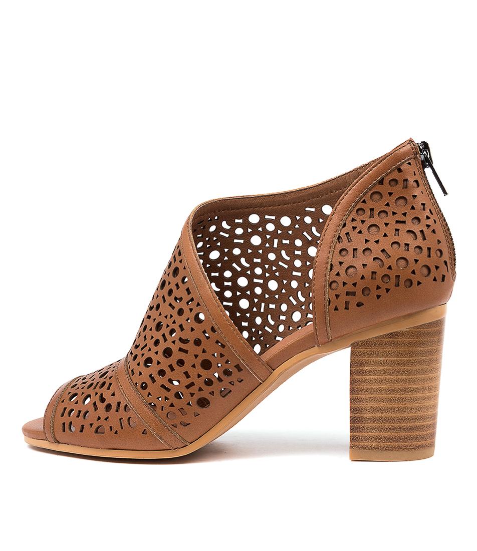Buy Django & Juliette Verlie Dj Dk Tan Heeled Sandals online with free shipping