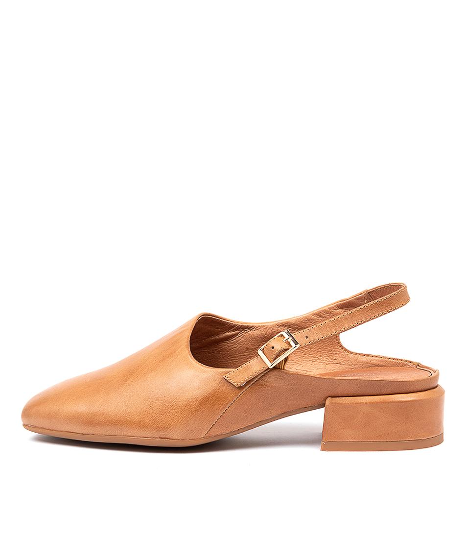 Buy Django & Juliette Vison Dj Dk Tan High Heels online with free shipping