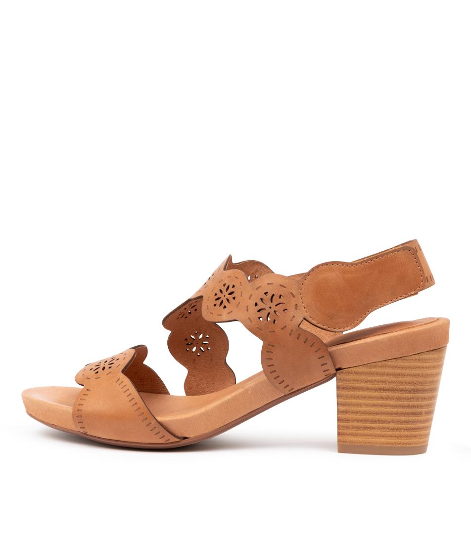 Buy Django & Juliette Zupply Dj Lt Tan Heeled Sandals online with free shipping