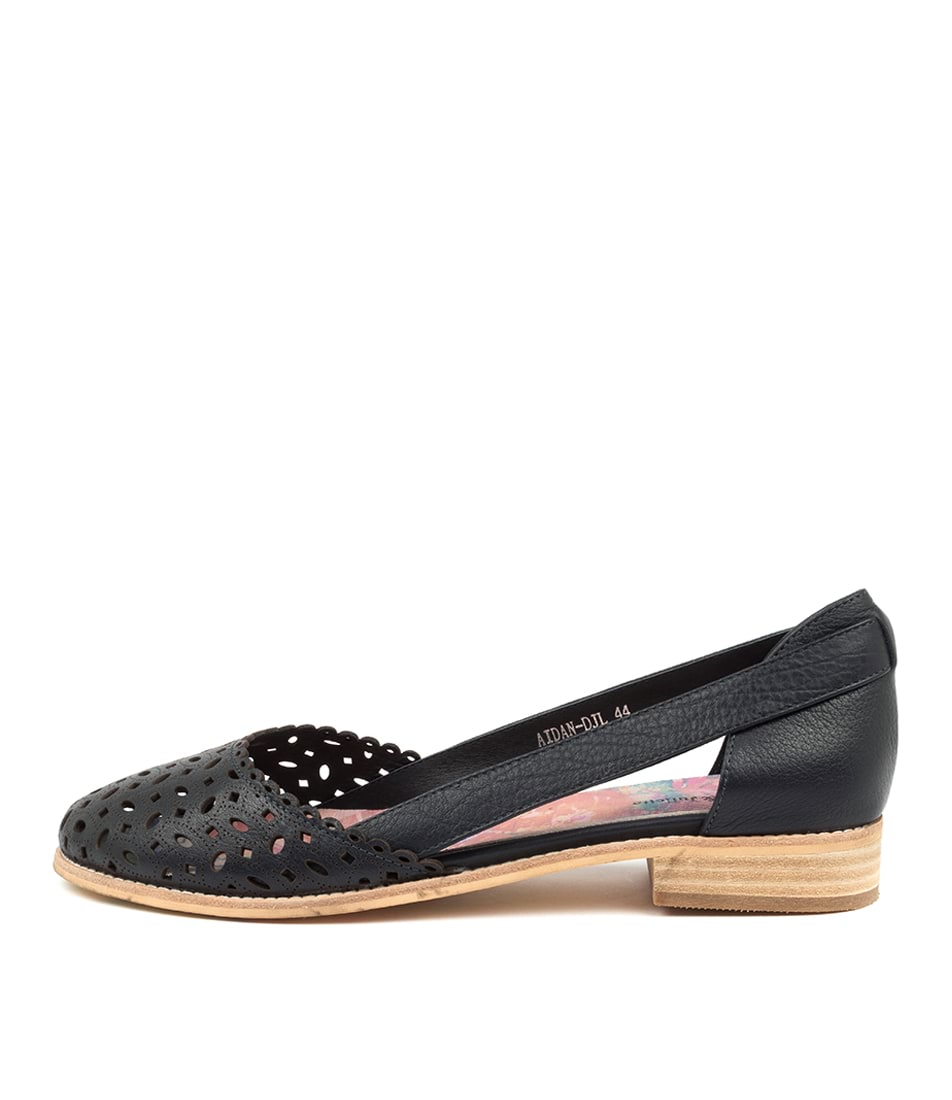 Buy Django & Juliette Aidan Djl Navy Flats online with free shipping