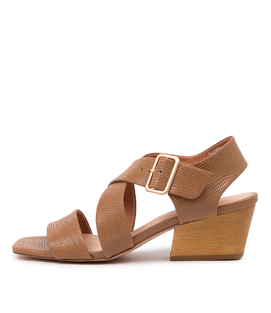 Buy Django & Juliette Dacker Dj Tan Heeled Sandals online with free shipping