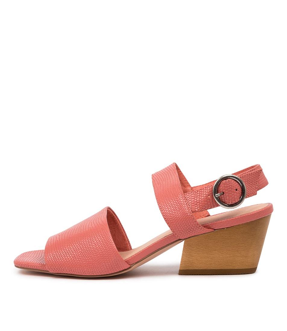 Buy Django & Juliette Dino Dj Melon Heeled Sandals online with free shipping