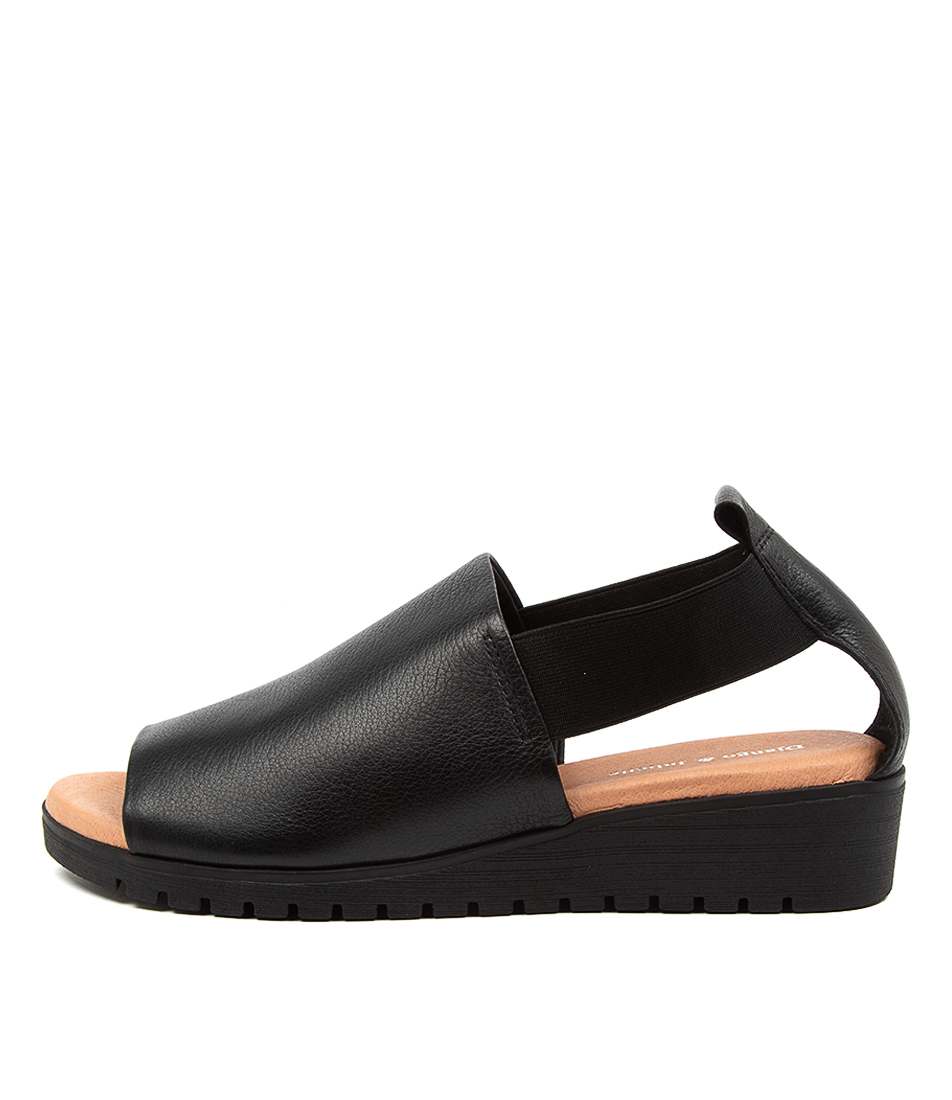 Buy Django & Juliette Munster Dj Black Tan Flat Sandals online with free shipping