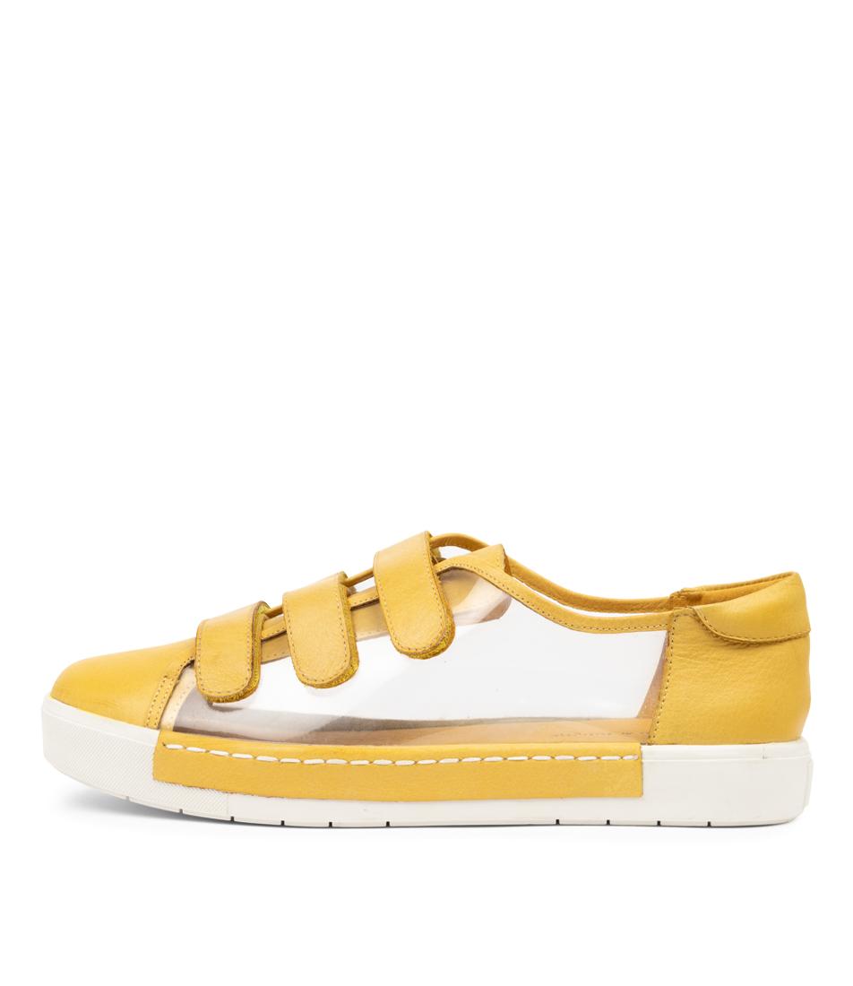 Buy Django & Juliette Vida Dj Yellow Clear Sneakers online with free shipping