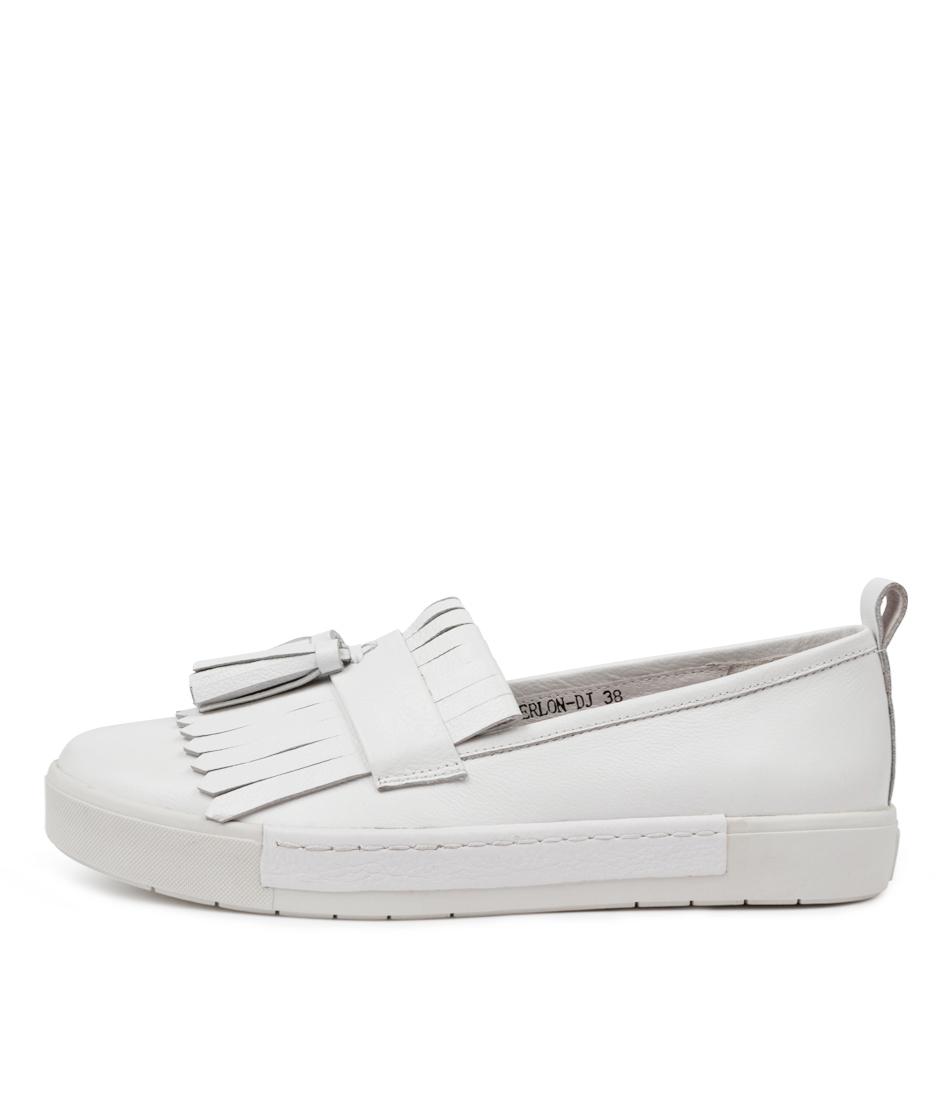 Buy Django & Juliette Verlon Dj White Sneakers online with free shipping