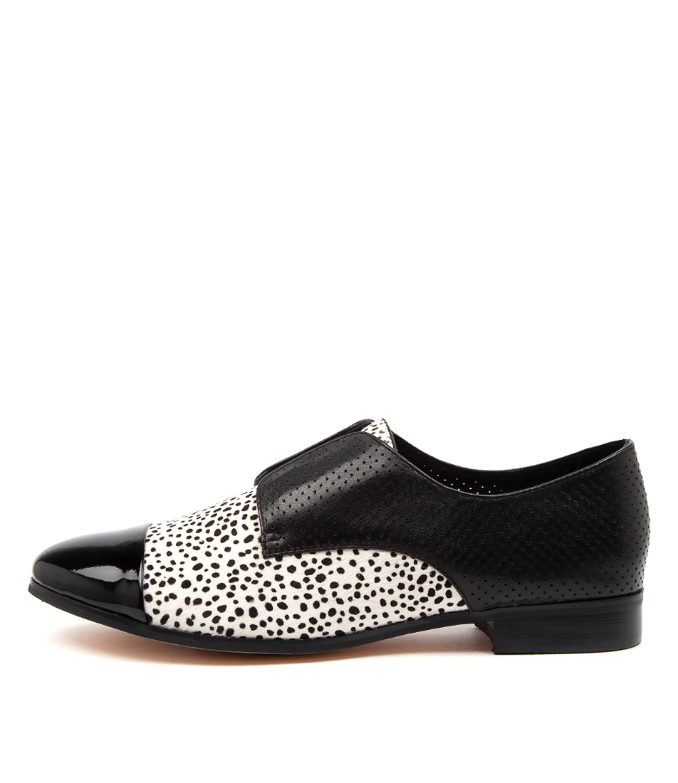 Buy Django & Juliette Josie Dj Black & White Flats online with free shipping