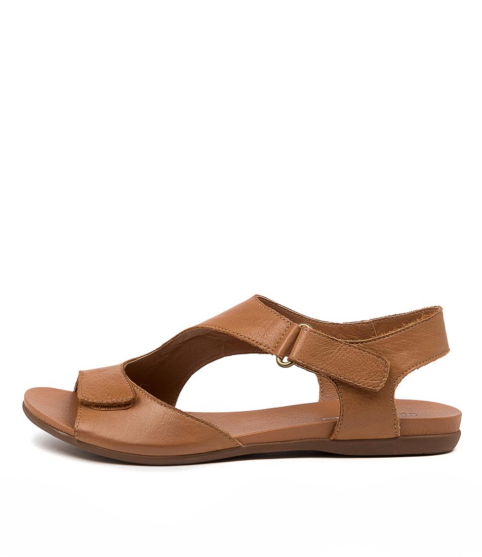 Buy Django & Juliette Brodie Dj Dk Tan Flat Sandals online with free shipping