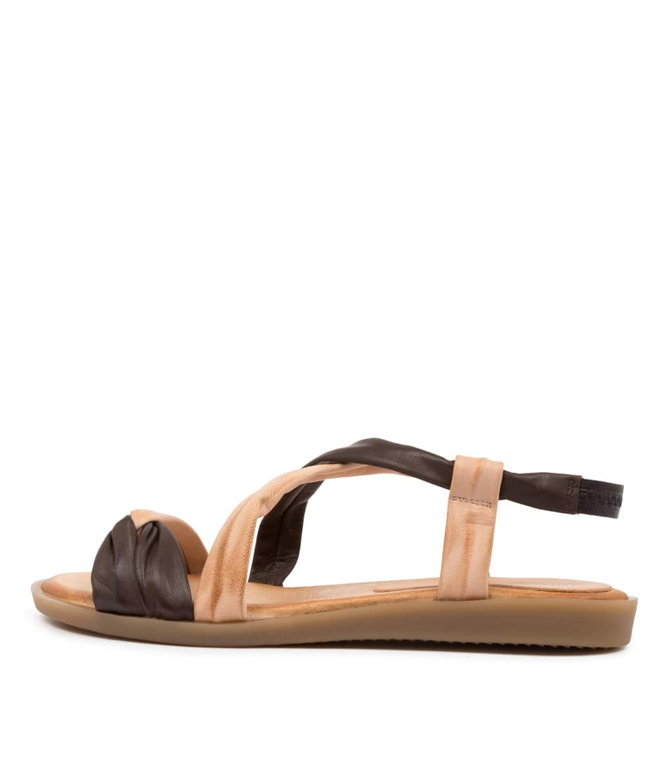 Buy Django & Juliette March Dj Choc Flat Sandals online with free shipping